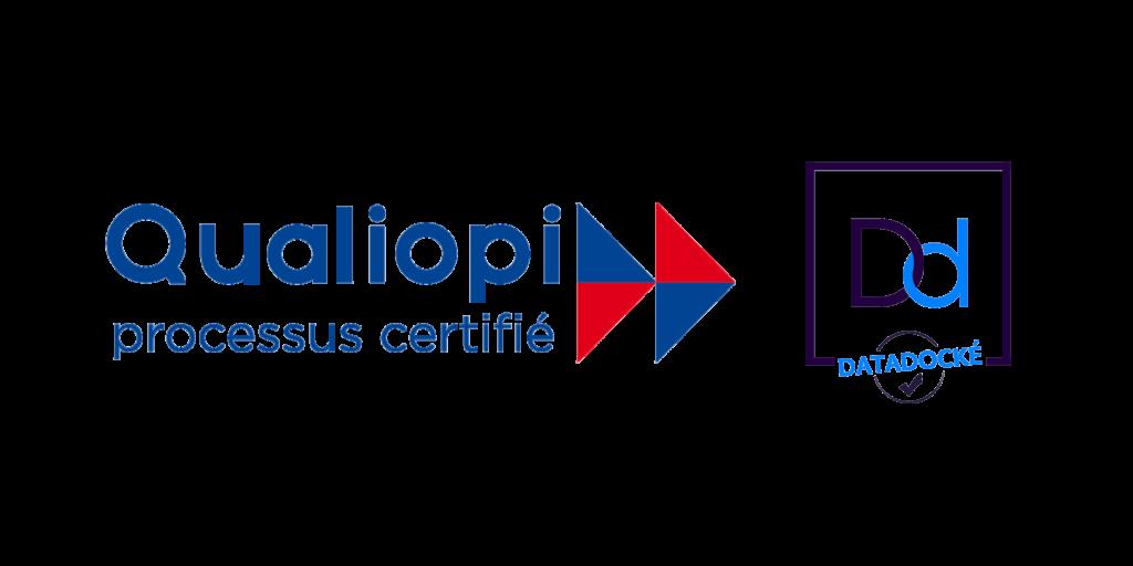 Logos qualiopi et datadock